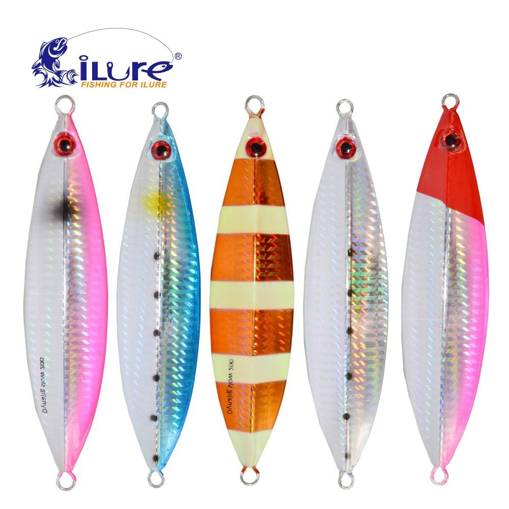 Compras libres de Metal Jigging Cuchara Ojos Señuelo Artificial 30 g - Pescando