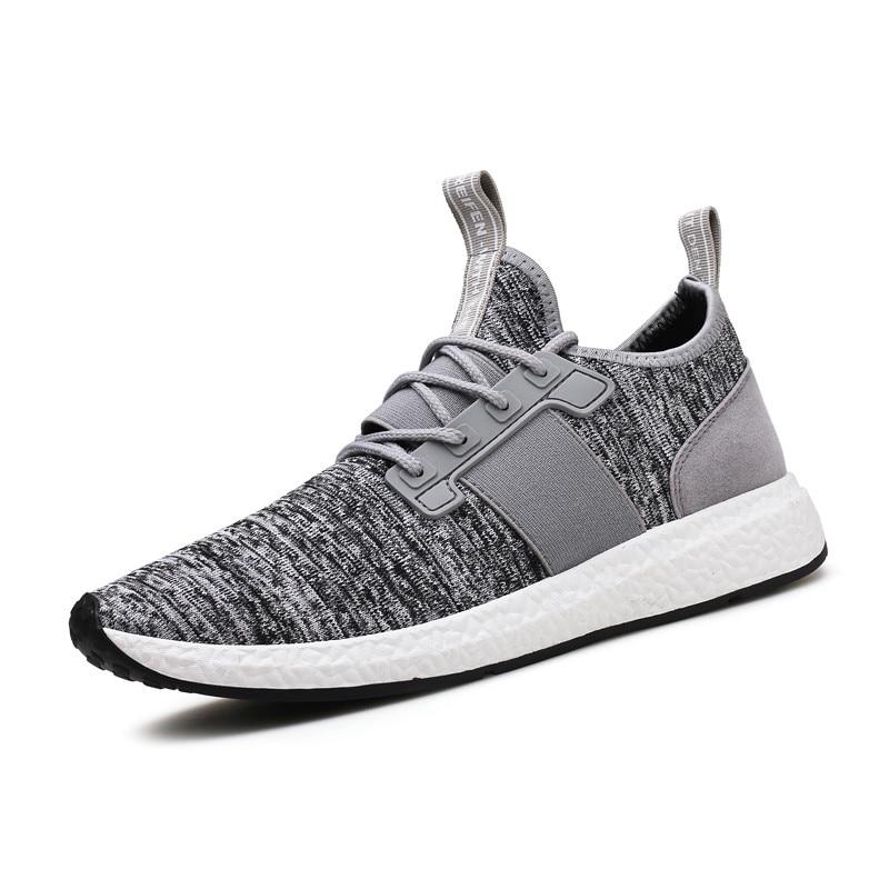 2018 Heren Sneakers Ademende Heren Casual Schoenen Comfortabele Heren - Herenschoenen - Foto 2