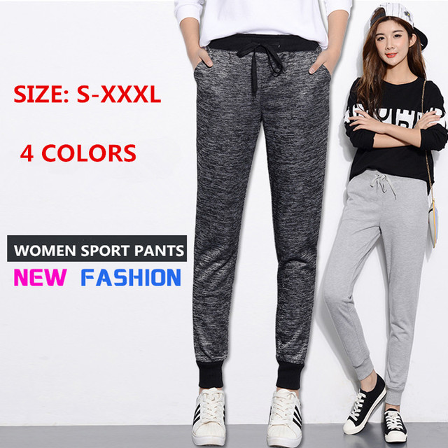 WKOUD Sweatpants Women Warm Hot Harem Pants Winter Thickening Casual Trousers Female High Waist Drawstring Snow Pants P8086 3