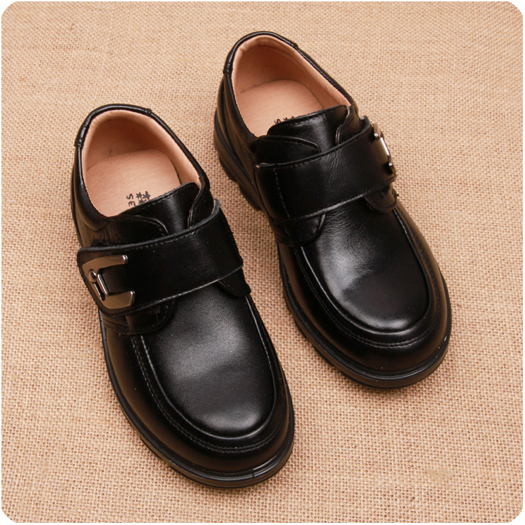 Free Shipping Good Quality 2015 Uk Style Boys School Shoes