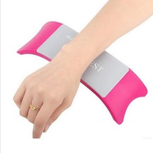 Comfortable Plastic Silicone Nail Art Cushion Pillow Salon Hand Holder Arm Rest Manicure Accessories