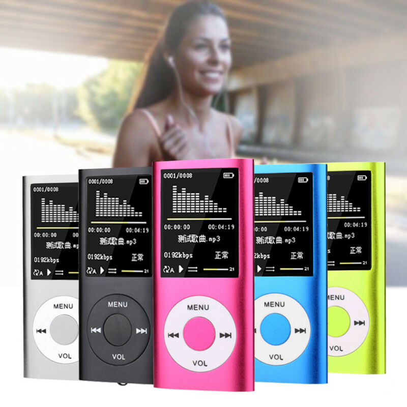 New For IPod Style 32GB Portable 1.8 LCD MP3 MP4 Music Video Media Player FM Radio Portable Colorful MP3 MP4 Player Music Video image