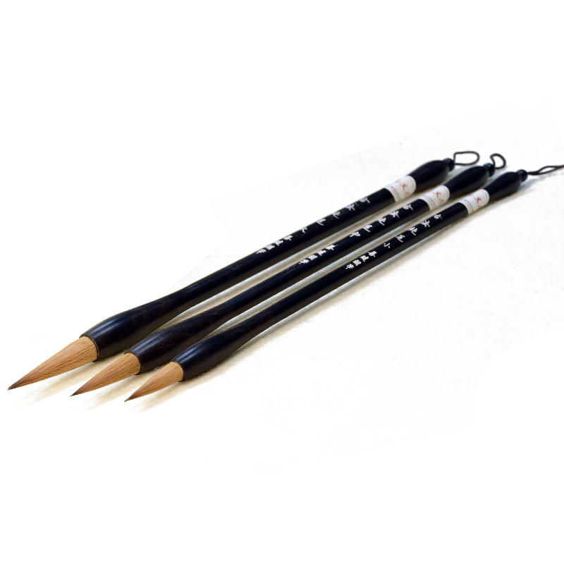 Ritzy Chinese Calligraphy Brush Pen Pure Weasel Hair Calligraphy Writing Brush Luxurious Chinese Painting Brush Pen