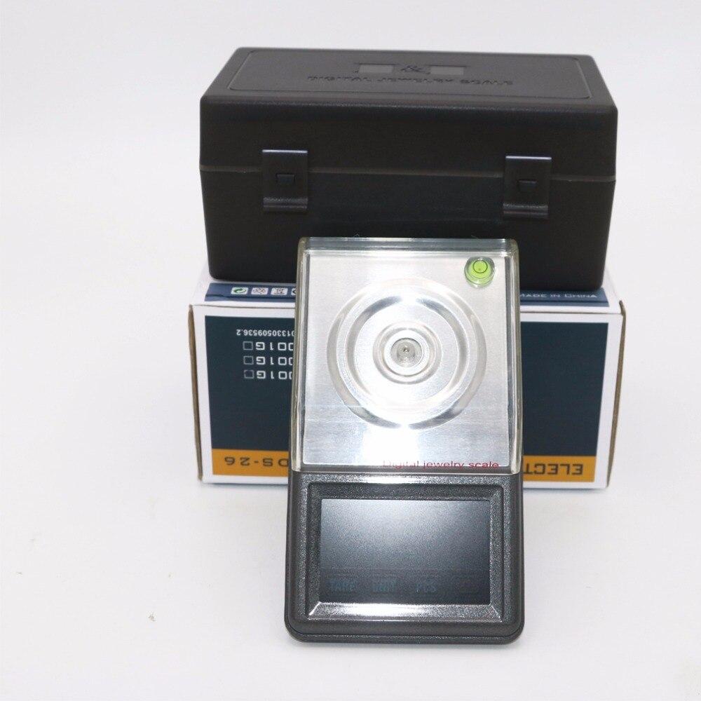 0.001g ~ 50g écran tactile haute définition bijoux échelle qualité poche électronique numérique balance + boîte de détail - 2
