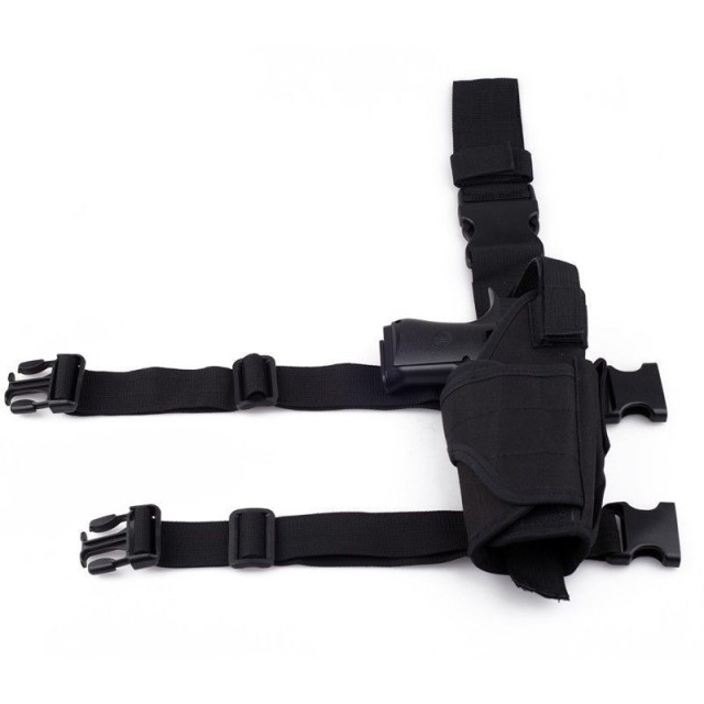 Tactical Tornado Leg Holster Glock Airsoft Pistol Gun Drop Leg Holster Pouch Adjustable Magic Strap Holster For Universal Gun  1