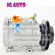 New Auto AC Compressor For Toyota Prado 883106A150 447180-5400 4471805400 for toyota prado ac compressor