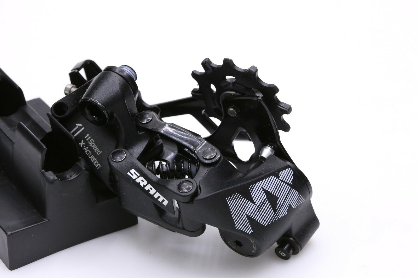 <font><b>SRAM</b></font> NX 11 Speed Rear Derailleur - Long Cage -Black Mountain Bike image