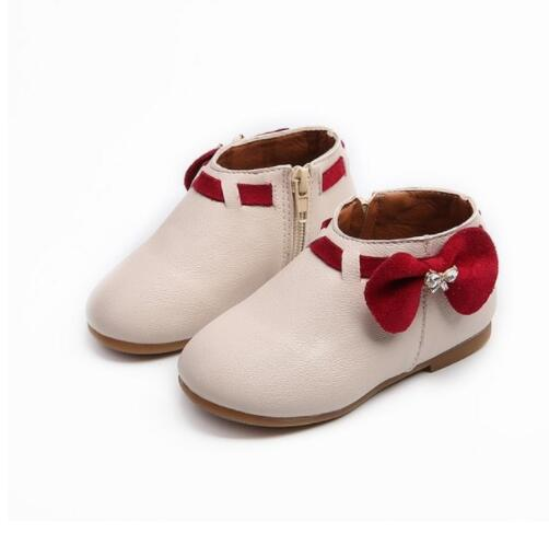 Classic Fashion Children Winter Shoes Autumn Winter Kids Ankle Boot Casual Flat Shoes Baby Girls Botas Single Boot