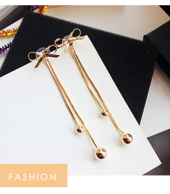 Classic Rhinestone  Geometric Dangle Earrings