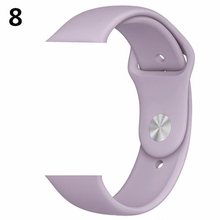 CRESTED strap For Apple Watch band 4 42mm 44mm iwatch 3 band 38mm/40mm correa Bracelet pulseira Sport Silicone wrist belt 42 2/1(China)