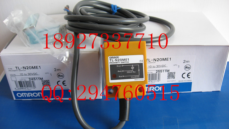 [ZOB] 100% brand new original authentic OMRON Omron proximity switch TL-N20ME1 2M  --2PCS/LOT цена 2016