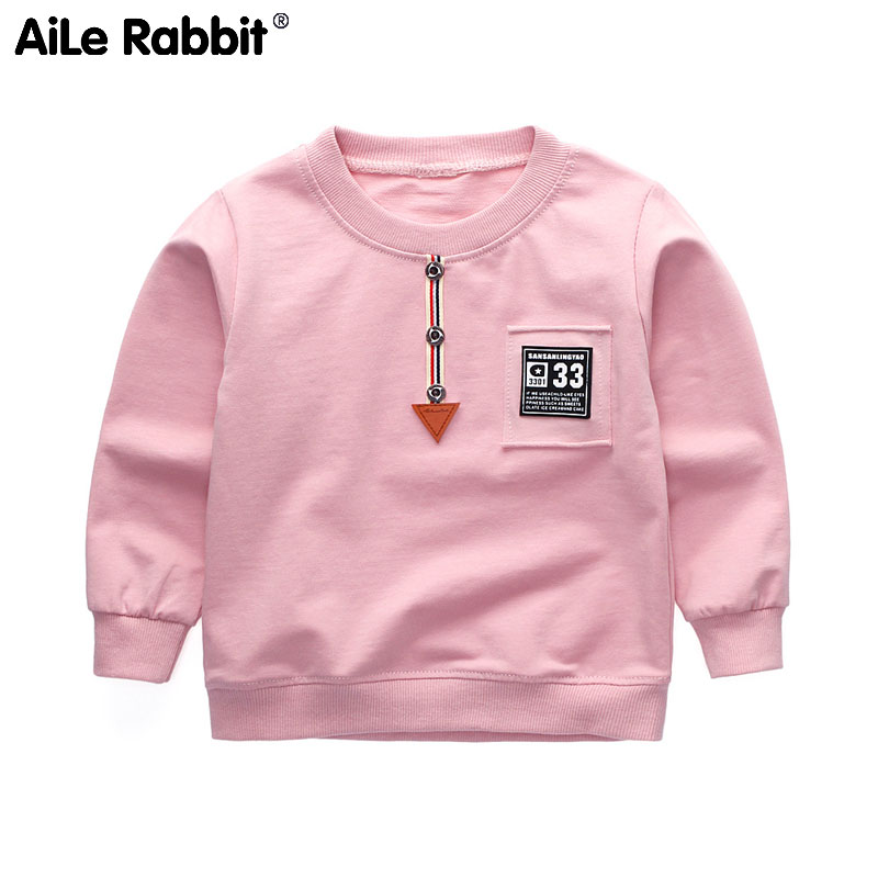 T-Shirt Boy Long-Sleeved Spring Autumn Cotton Multi-Color And Sweater ALTERNATIVE New-Style
