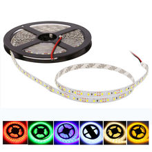 high quality SMD3528 120leds/m 5M DC12V Waterproof IP65 & IP20 led Flexible strip light string tape ribbon novelty households