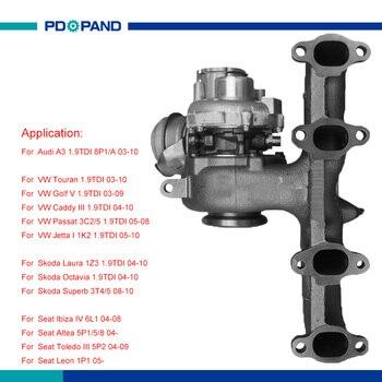 auto turbo charger kit BV39 turbocharger turbine 038253056G 038253056J 038253056L for Seat Altea Toledo Leon BXE BXF BUK 1.9L