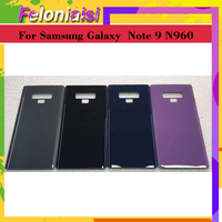 "galaxy note 10Pcs 6.3"" Back Glass Replacement For Samsung Galaxy Note9 Note 9 N960 N960F N960P Battery Cover Rear Door Housing Case Shell (4)"