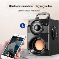 Bluetooth Внутренние/наружные портативные водостойкие колонки, беспроводные наружные черные колонки Blackby Sound Appeal High power Player