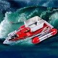 Nuevo Azul Rojo Verde color Goture Mini RC 280 M 300 M Barco de control Remoto Barco De Pesca de Señuelo