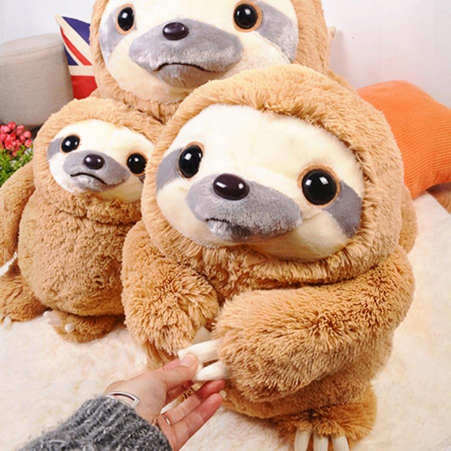 Giant Sloth Stuffed Animal Golfclub