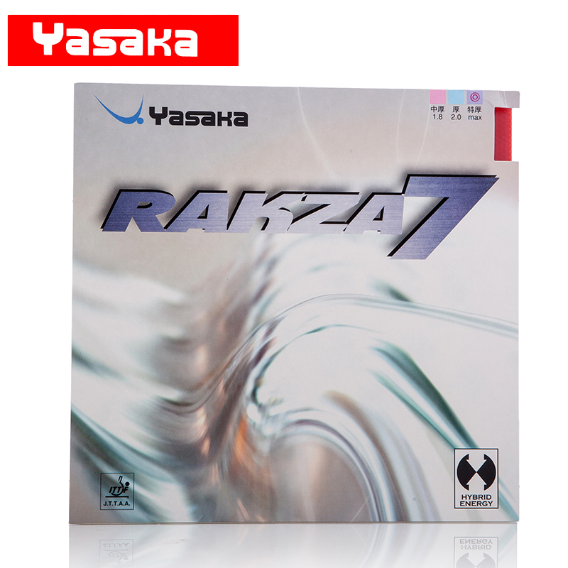Yasaka Original RAKZA 7 RK7 Pimples In Table Tennis Rubber RAKZA7 Pips-In Ping Pong Sponge Tenis De Mesa andro rocket pimples in table tennis rubber pips in ping pong sponge tenis de mesa