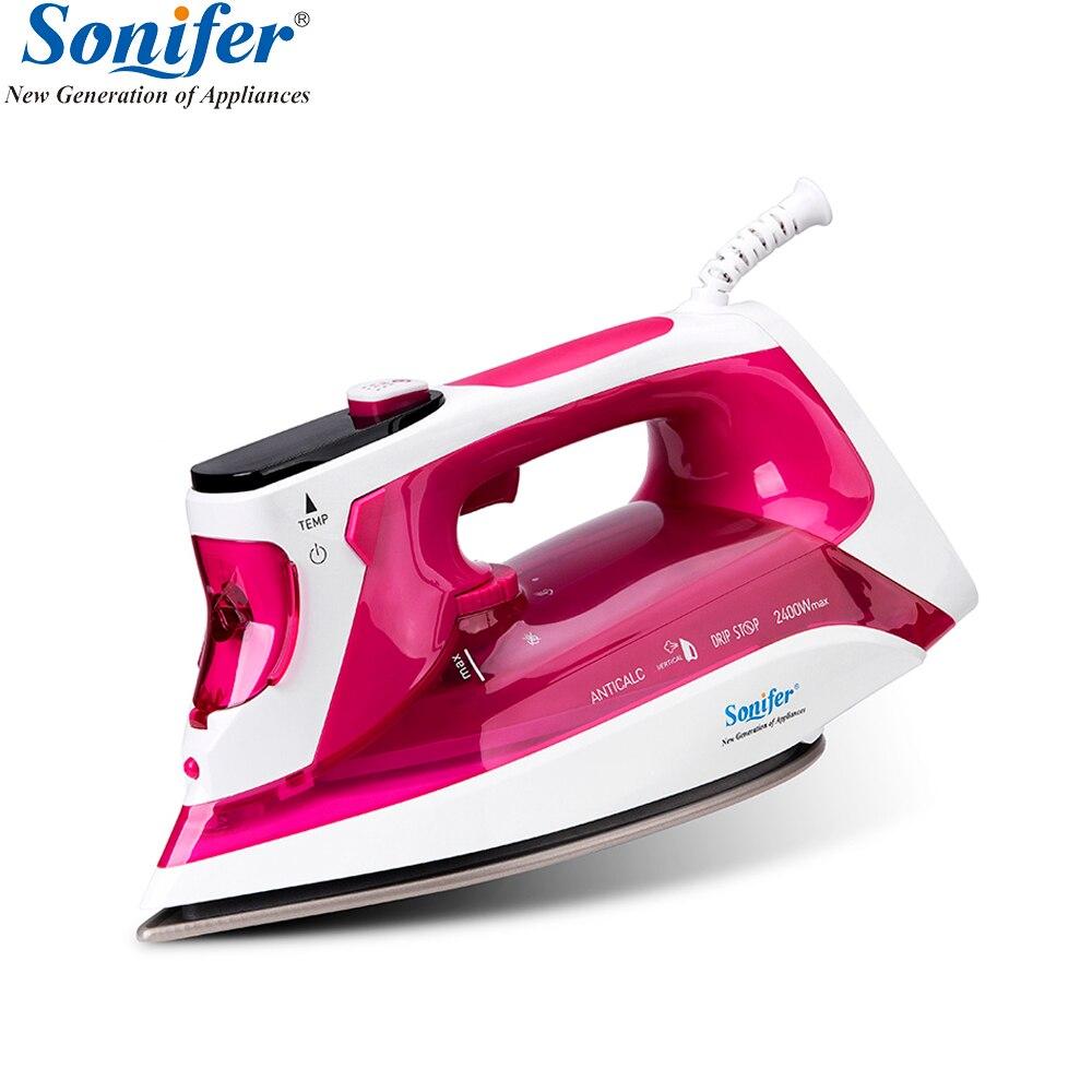 2400 watt Digital Hohe qualität wäsche haushaltsgeräte Elektrische Dampf Eisen bügelsohle eisen für bügeln Sonifer