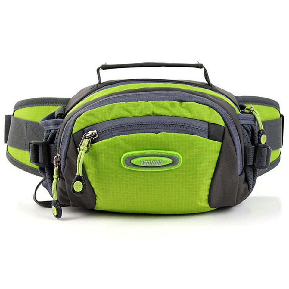 1.5L Waterproof Nylon Multifuntictional Outdoor Sport Running Bag Cycling Climbing Sport Waist Bag Water Bottle Belt Bag