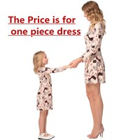 2018 New Autumn Mom Daughter Girls Beach Dress   Family   Clothing   Outfits   Mom And Daughter Fashion   Family     Matching     Outfits