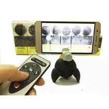 360 Degree Rotating Electronic Panorama Head Time Lapse Self Timer For Smart Phone Gopro Xiaomi Yi SJ4000 SJ5000 Action Camera
