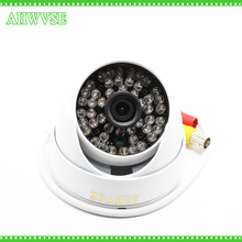 AHWVSE D636 H.264 HD 1080P AHD Camera Metal Housing 2MP Security CCTV Camera Home Surveillance with wide angle 3.6mm Lens