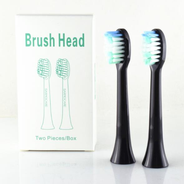 1pack/2pc  Toothbrushes Head For Sarmocare S100/200 Ultrasonic Sonic Electric Toothbrush Fit Digoo DG-YS11 Toothbrushes Head