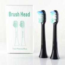 Cabeçote de escova de dentes sarmocare s100/200, escova elétrica ultra sônica digoo DG YS11, 1 pacote/2 peças cabeça de escovas de dentes