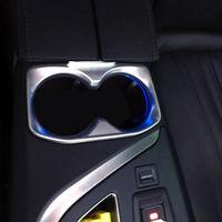 Innere Wasser Tasse Halter Dekoration Abdeckung Trim 1 stücke Für Peugeot 3008 GT 2016-2018