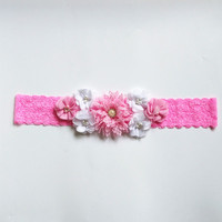 Customized Beautiful Chiffon Flower Maternity Sash Belt Pregnancy Photo Props Wedding Sash Baby Shower Mom To