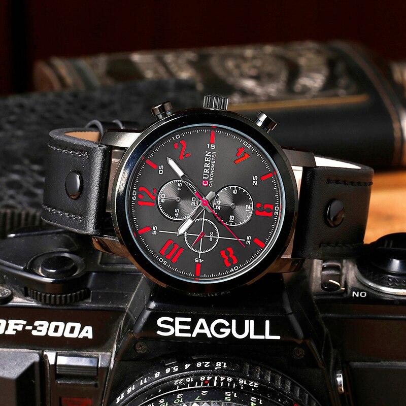 CURREN Πολυτελή Casual Ανδρικά Ρολόγια - Ανδρικά ρολόγια - Φωτογραφία 4
