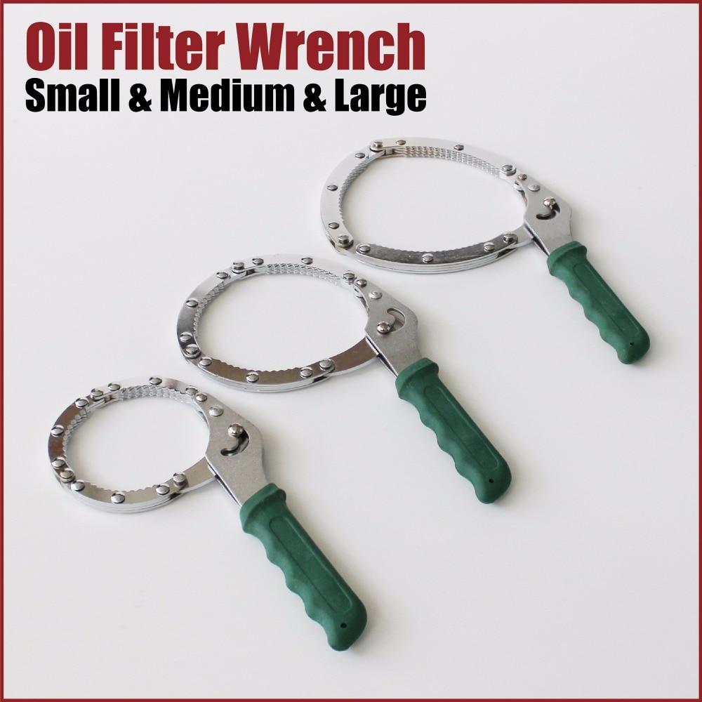 Filtre à huile chaîne sangle de clé remover suppression outils automobile tuyau clé clé pinces outils à main mécanique auto voiture garage