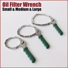 цена на Heavy Duty Chain Wrench For Oil Filter in 3 Sizes S M L  OW-SML