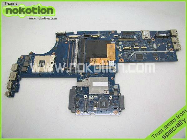 NOKOTION LA-4951P 595764-001 LAPTOP MOTHERBOARD for HP EliteBook 8540P 8540W KAQ00 INTEL DDR3 with graphics slot 595765 001 free shipping for hp la 4951p intel laptop motherboard qm57 100