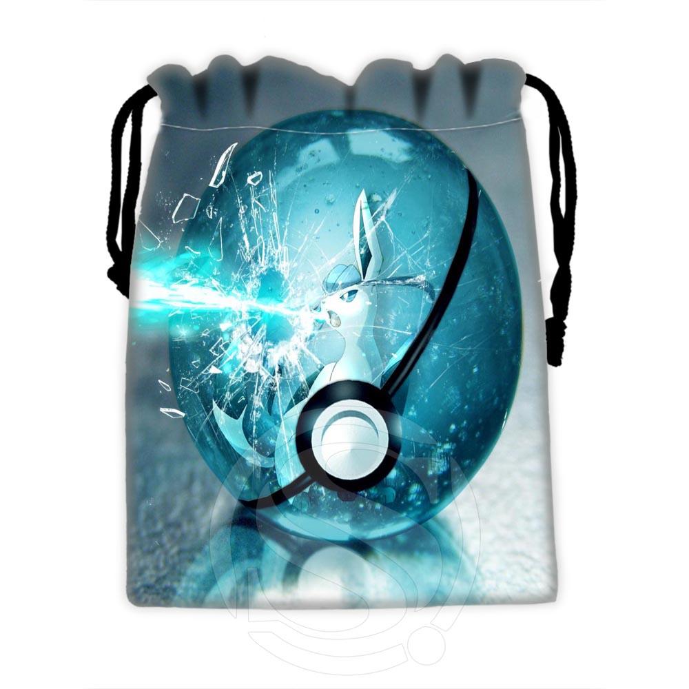 H-P588 Custom Eevee #26 Drawstring Bags For Mobile Phone Tablet PC Packaging Gift Bags18X22cm SQ00729-@H0588