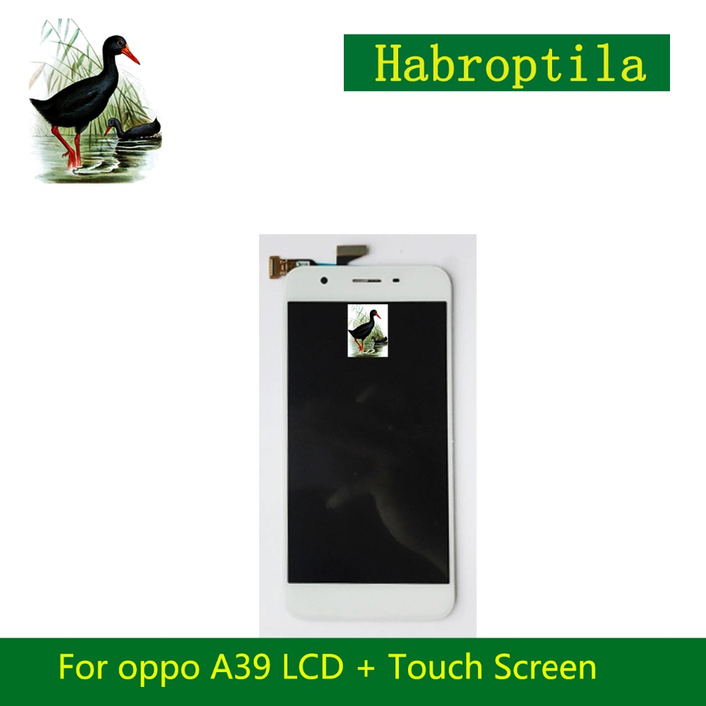 High Quality 5.2 For Oppo A39 LCD Full Lcd Display With Touch Screen Digitizer Sensor Assembly Complete+Tracking