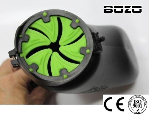 Accesorios de marcador de paintball Green Speed Feed (2 piezas) Tapa de la tolva de la tapa de la tapa de paintball universal Tippmann X7 / 98 paintball Nuevo