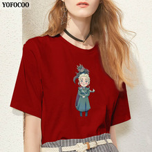 YOFOCOO Mother of Dragons Print Women T-Shirt Vogue Funny Game Thrones Tops Summer Tee Femme Shirt