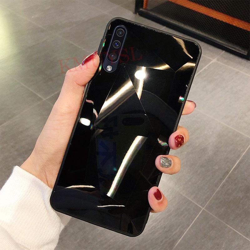 Чехол для Samsung Galaxy A50, роскошный блестящий чехол с бриллиантами для Samsung M30 A10 A20 A30 A40 A60 A70 A80 S10 Note 10 Plus, чехол - Цвет: 4