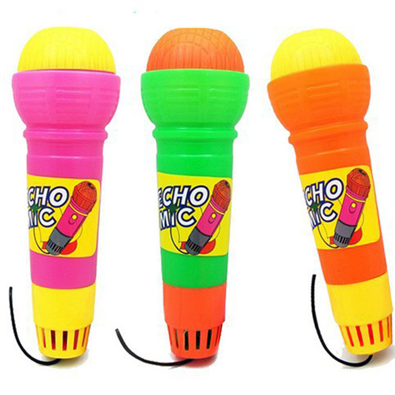 Kids Echo Microphone Mic Voice Changer Toy Gift Educational Birthday Present Kids Mini Party Song Learning Toys For Children