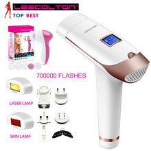 Hot Sales Portable Professional Homelight Face&Body for Home Use 2 IN 1 Powerful IPL Laser Hair Removal Machine with LCD Display цена