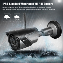 Открытый водонепроницаемый wi-fi multi-purpose ip-камера 6 мм фокус объектива с motion detection sensitivity управления и 128 ГБ sd карты