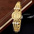 New fashion gold quartz watch women famous brand clock Elegant ladies Watch luxury Bracelet watch ceasuri relogio feminino
