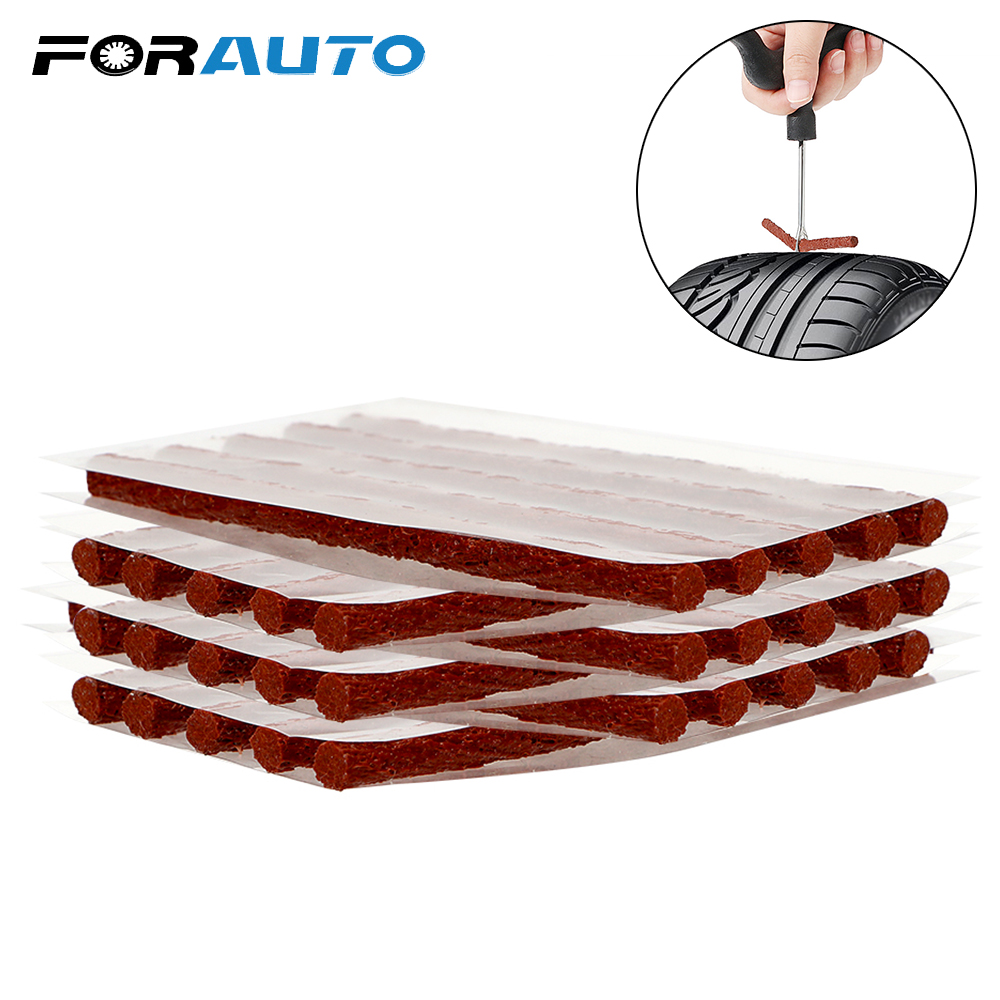 1 Set Car Tire Repair Rubber Strip Block Air Leaking Rubber Cement For Car Truck Motorbike Tubeless Tire Auto Accessories