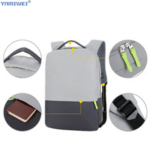 Backpack Waterproof Anti-Thief Laptop PC Bag Universal 13-14 inch Notebook Computer Bags For Macbook Pro Rucksack Student Bag цена