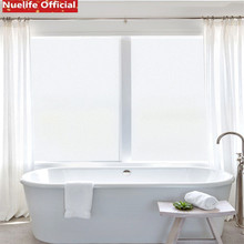 Nuelife скраб белые электростатические матовые стеклянные наклейки офисные непрозрачные наклейки ванная комната офис гостиная спальня оконная пленка
