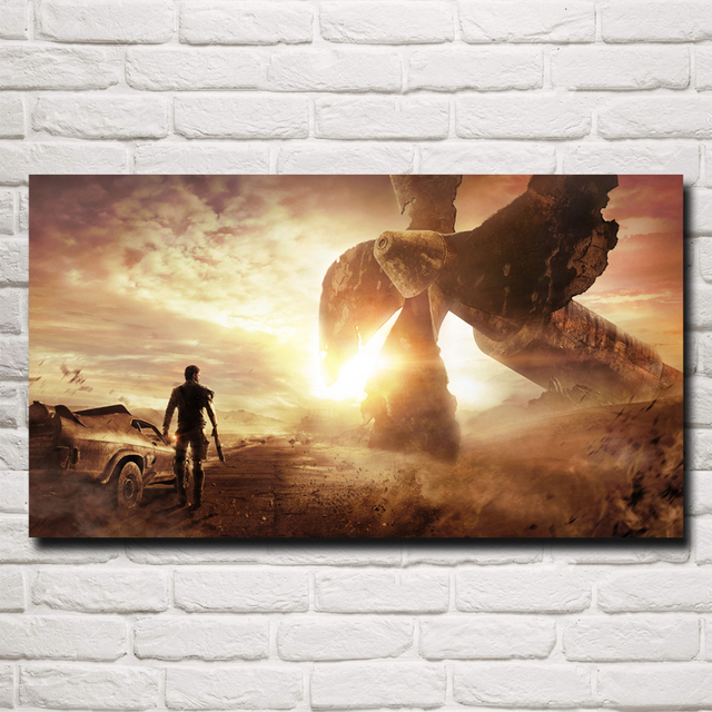 Mad Max Fury Road Movie Art Silk Fabric Poster Print Wall Home Decor Pictures 11×20 16×29 20×36 InchesFree Shipping