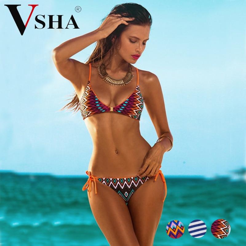 Vsha Women Brazilian Model Bikini Suit 2018 Summer -1528
